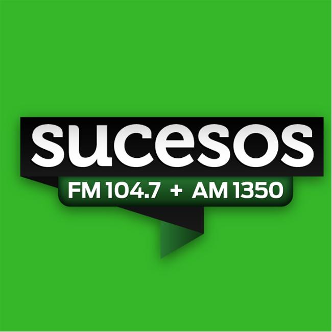 Logotipo de Radio Sucesos 104.7 FM
