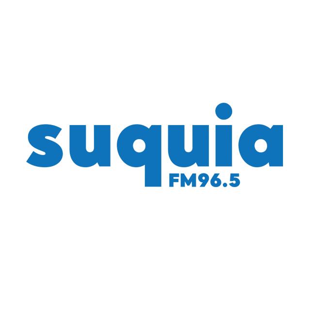 Logotipo de Radio Suquia 96.5 FM