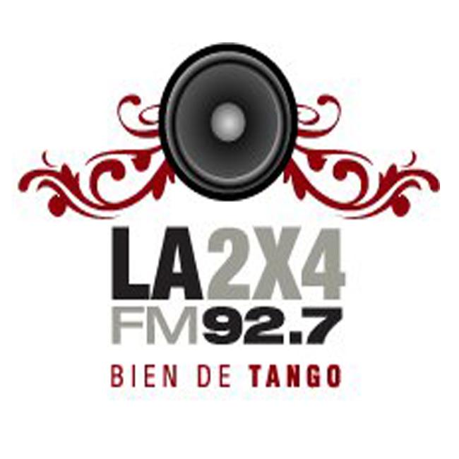 Logotipo de La 2x4 92.7 FM