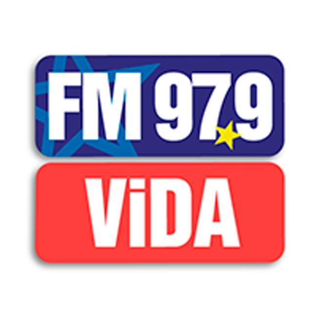 Logotipo de Radio Vida FM 97.9
