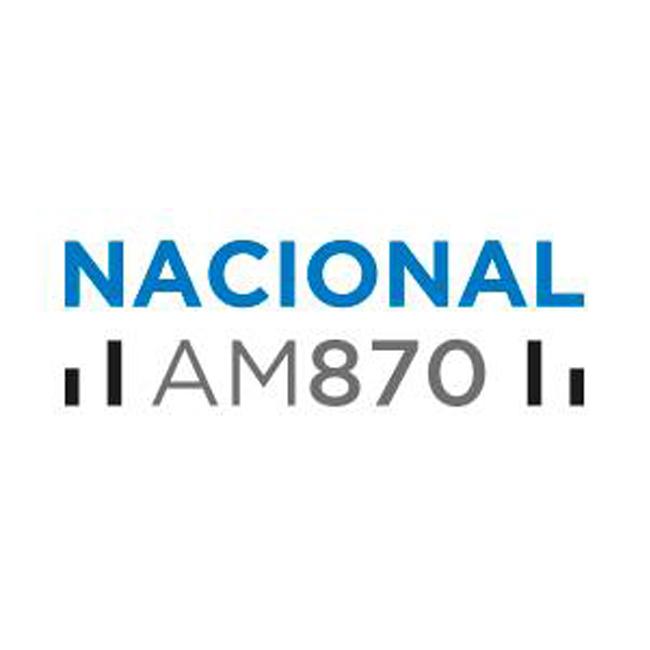 Logotipo de Radio Nacional 870 AM