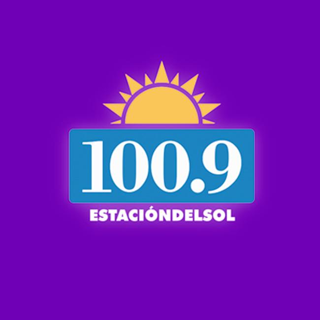 Logotipo de Estación del Sol 100.9 FM