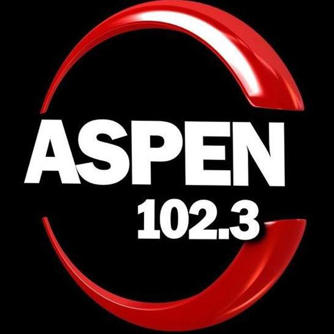 Logotipo de ASPEN 102.3 FM