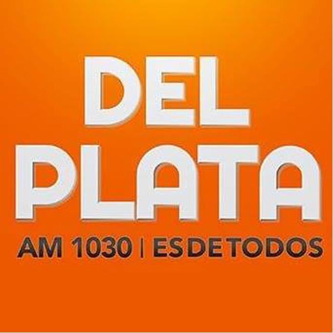 Logotipo de Radio Del Plata AM 1030