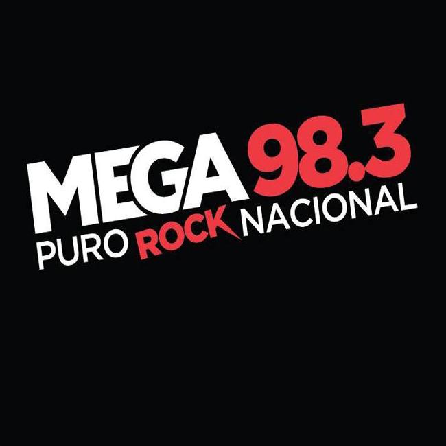 Logotipo de Mega 98.3 FM