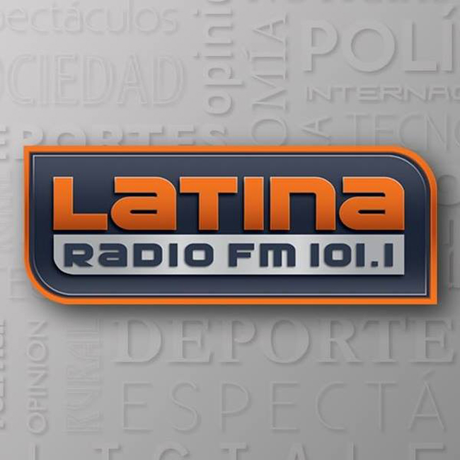 Logotipo de Radio Latina 101.1 FM