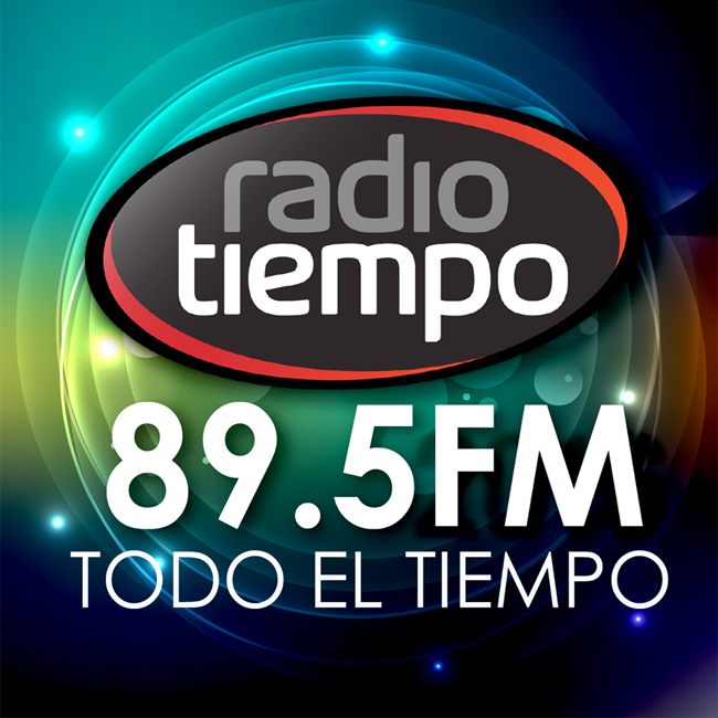 Logotipo de Radio Tiempo 89.5 FM