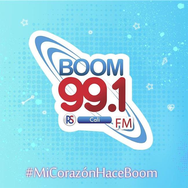 Logotipo de Boom 99.1 FM