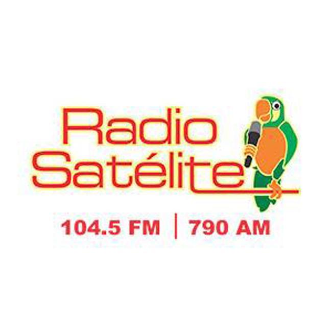 Logotipo de Radio Satélite 104.5 FM
