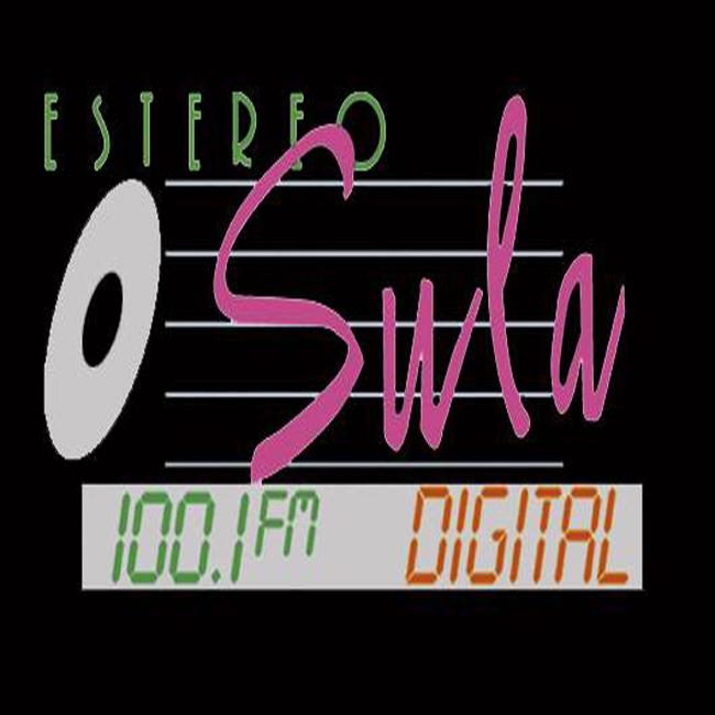 Logotipo de Estéreo Sula 100.1 FM