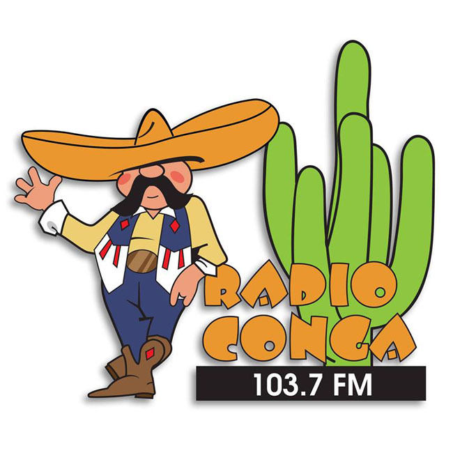 Logotipo de Radio Conga103.7 FM