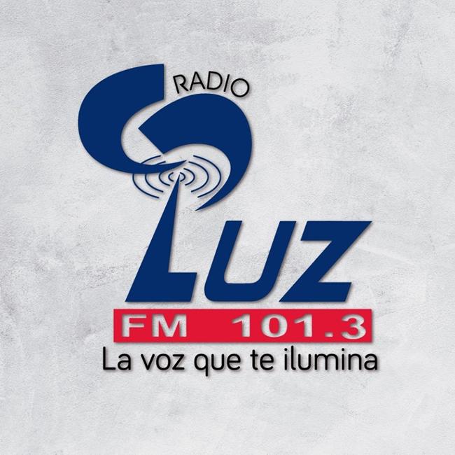 Logotipo de Radio Luz 101.3 San Pedro Sula
