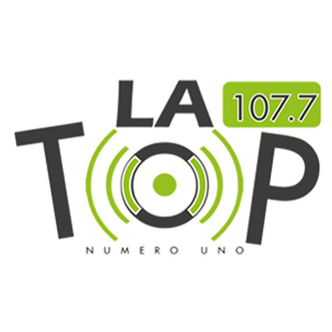 Logotipo de La Top 107.7 FM