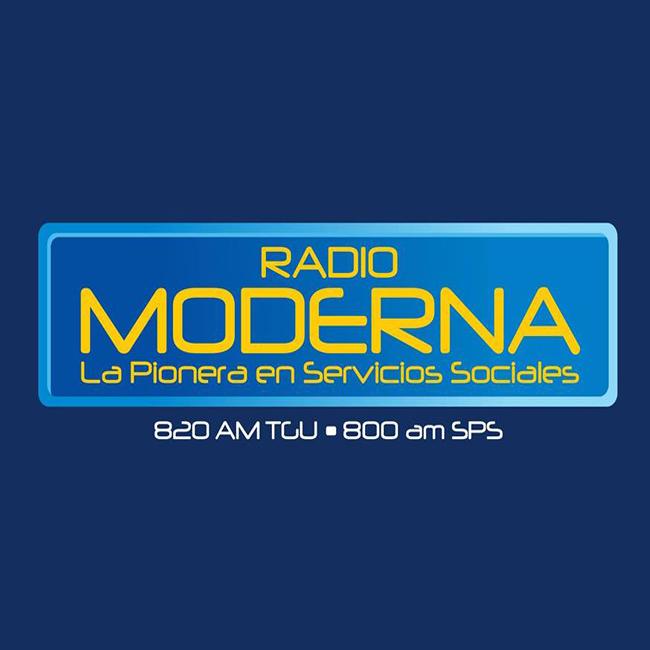 Logotipo de Radio Moderna