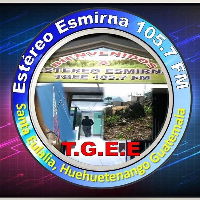 Logotipo de Estereo Esmirna 105.7 FM