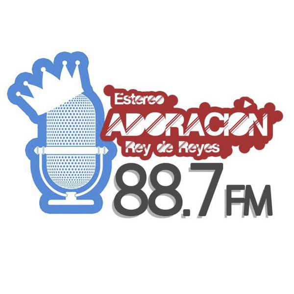 Logotipo de Adoración 88.7 FM