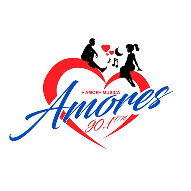 Logotipo de Amores 90.1