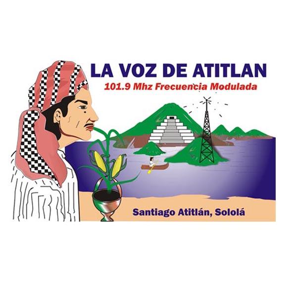 Logotipo de La voz de Atitlan 101.9