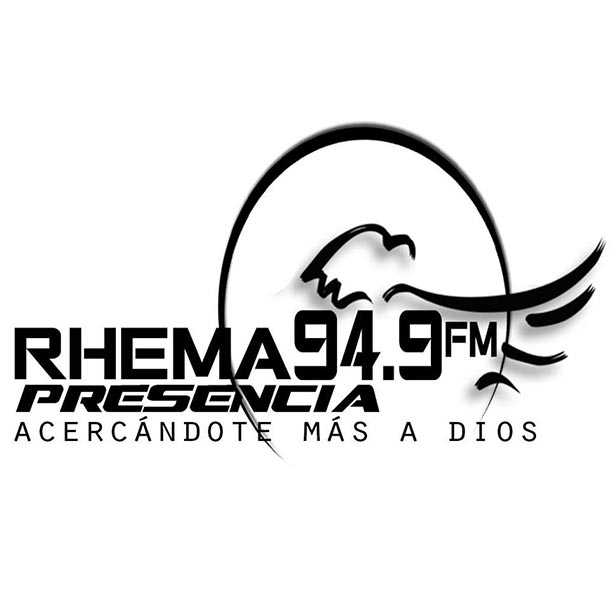 Logotipo de Rhema Presencia 94.9 FM