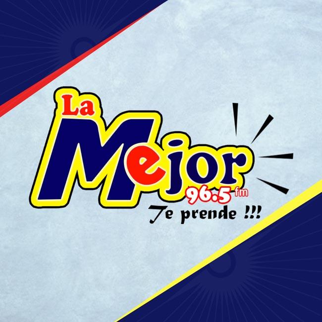 Logotipo de La Mejor 96.5 fm