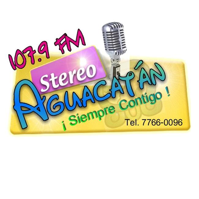 Logotipo de stereo aguacatan 107.9