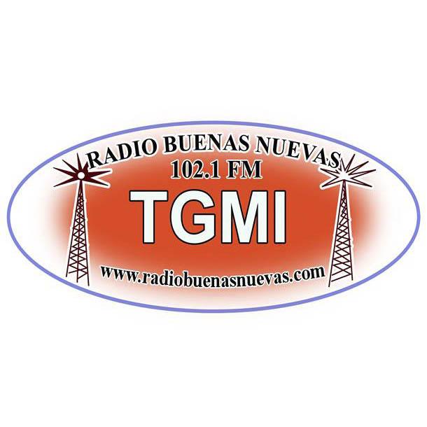 Logotipo de Buenas Nuevas 102.1 FM