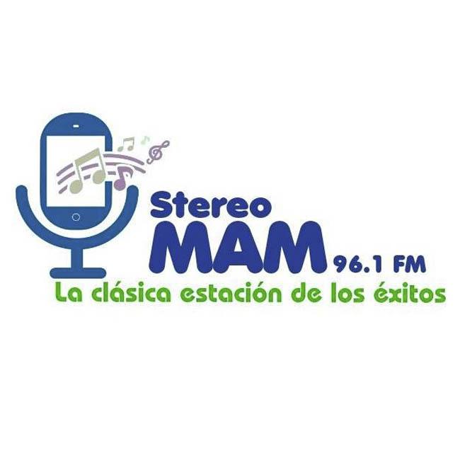 Logotipo de Estereo Mam 96.1 FM