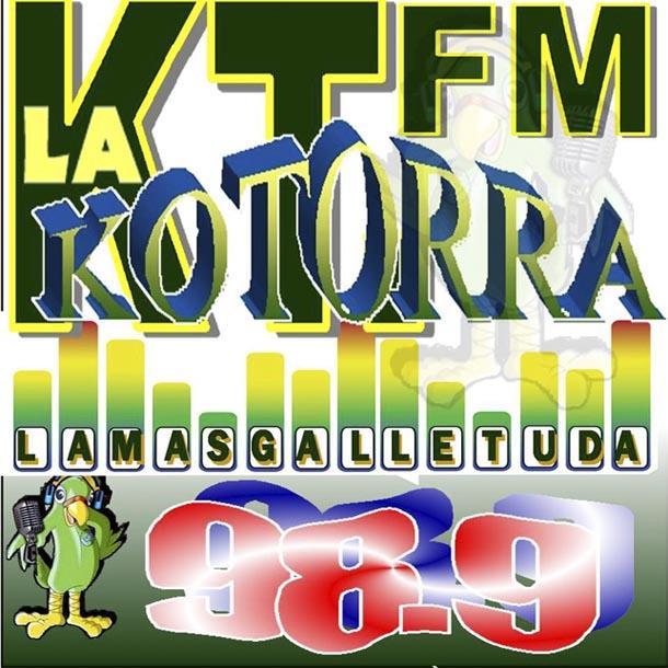 Logotipo de La Kotorra 98.9 FM
