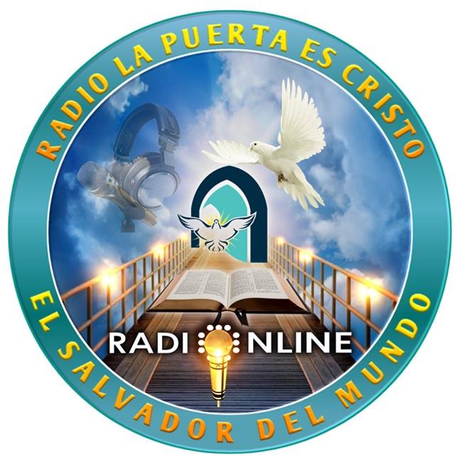 Logotipo de Radio La puerta es Cristo