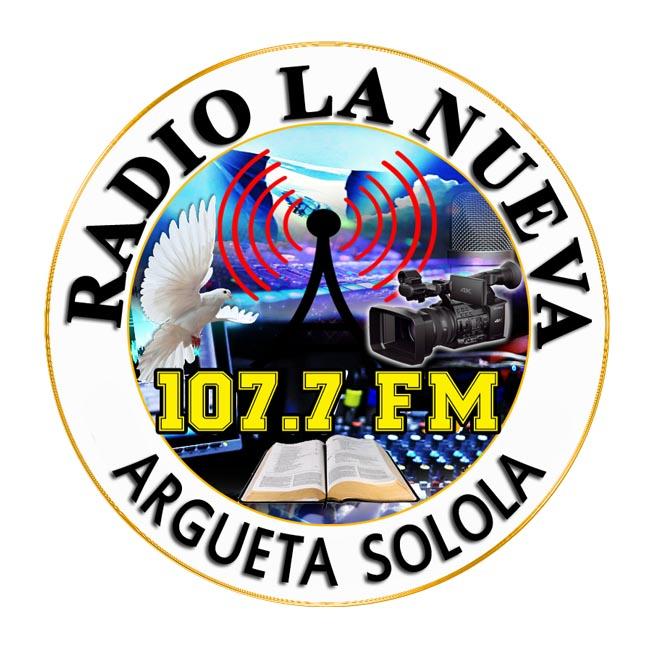 Logotipo de Radio La Nueva 107.7 Fm