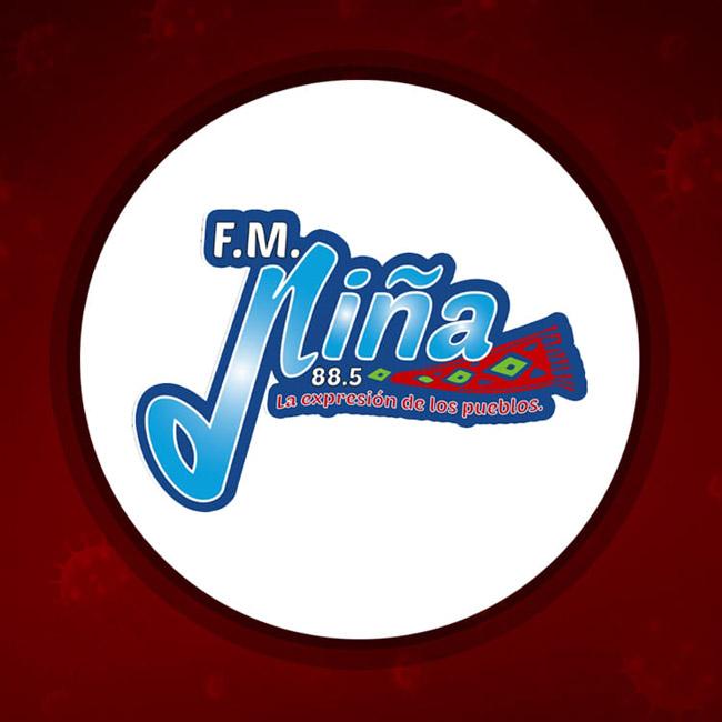 Logotipo de La Niña 88.5 FM