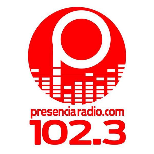 Logotipo de Presencia Radio 102.3 FM