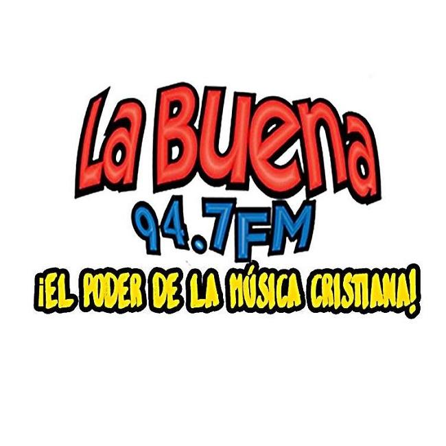 Logotipo de Radio La Buena 94.7 FM Cobán