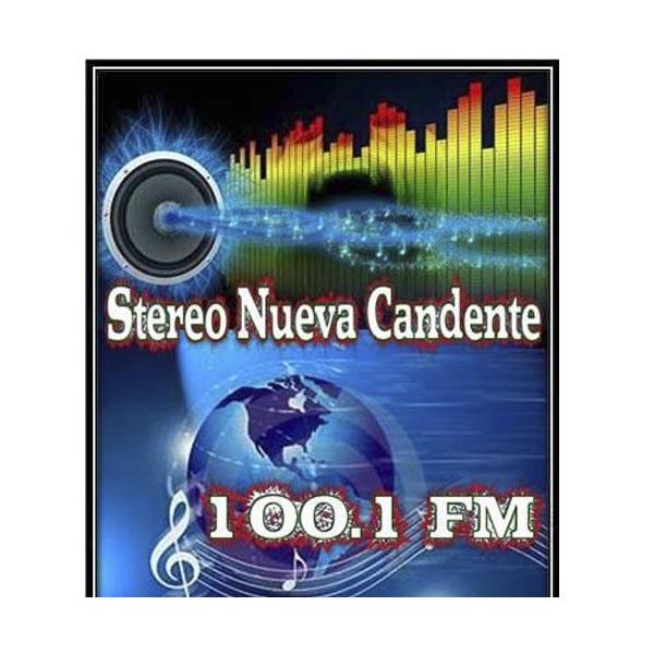 Logotipo de Stereo Nueva Candente