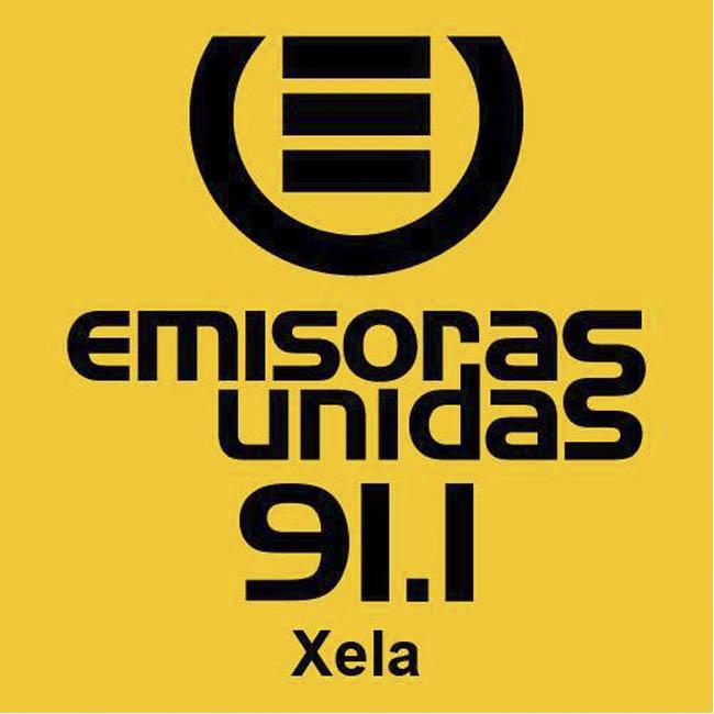 Logotipo de Emisoras Unidas Xela 91.1