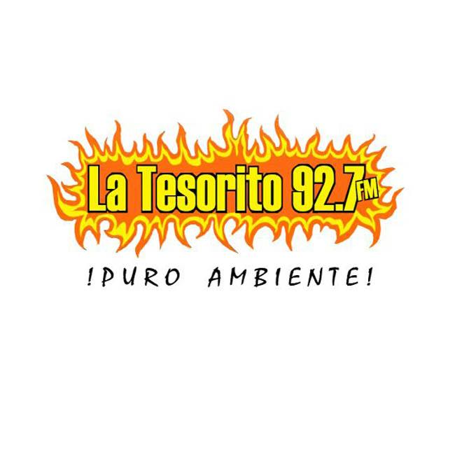 Logotipo de La Tesorito 92.7 Puro Ambiente