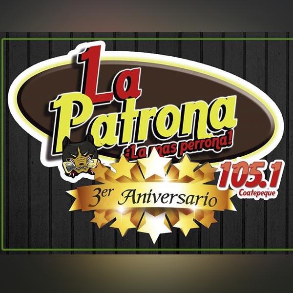 Logotipo de La patrona 105.1