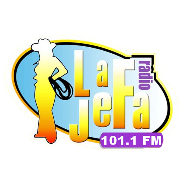 Logotipo de La Jefa 101.1 FM