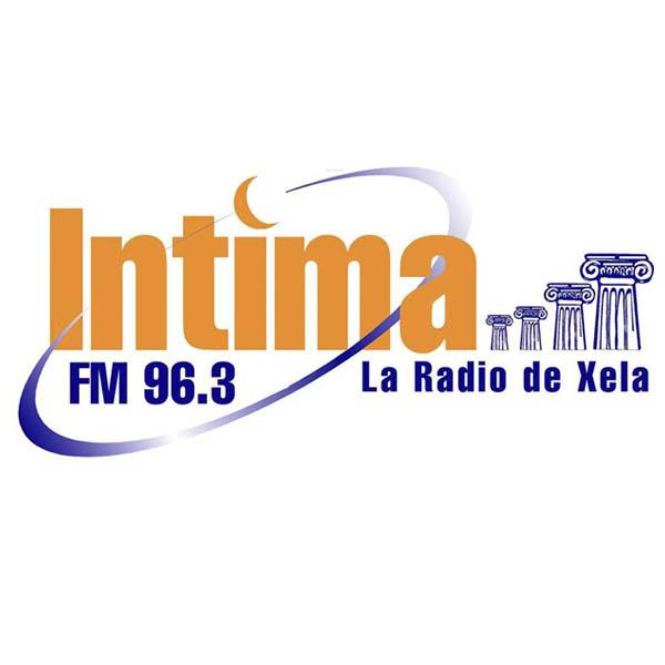 Logotipo de Fm Intima 96.3
