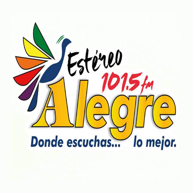 Logotipo de Estereo Alegre 101.5 FM