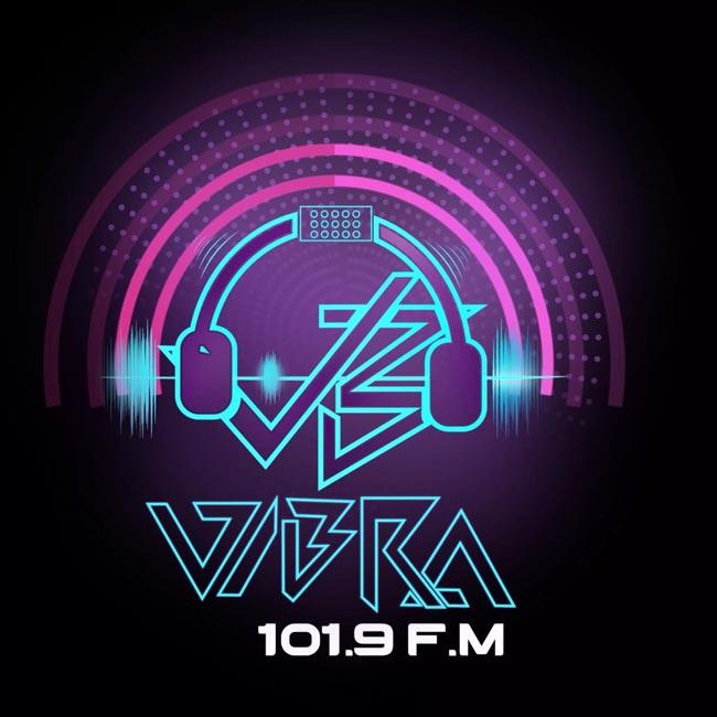 Logotipo de Vibra FM en vivo
