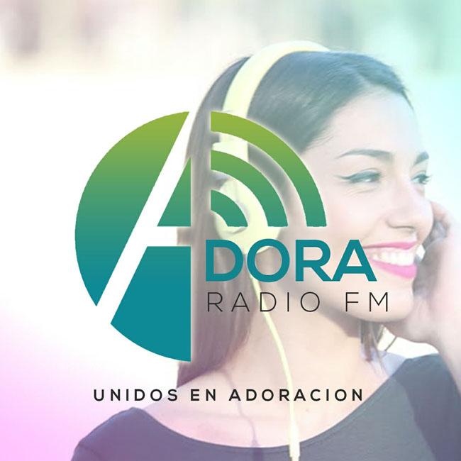Logotipo de Adora Radio FM