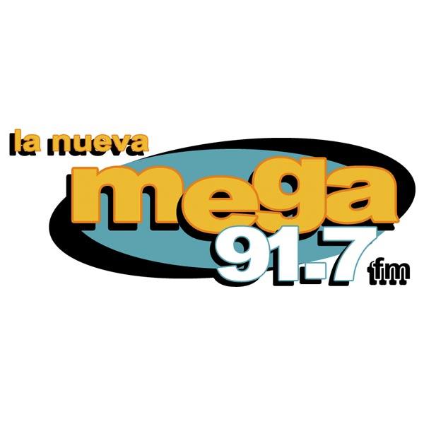 Logotipo de La nueva mega 91.7 FM