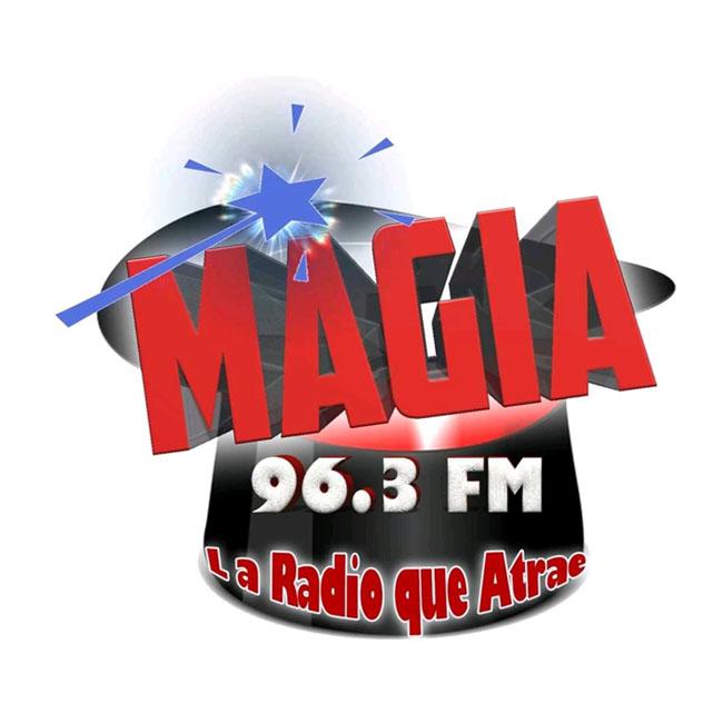 Logotipo de Radio Magia 96.3 Tacaná