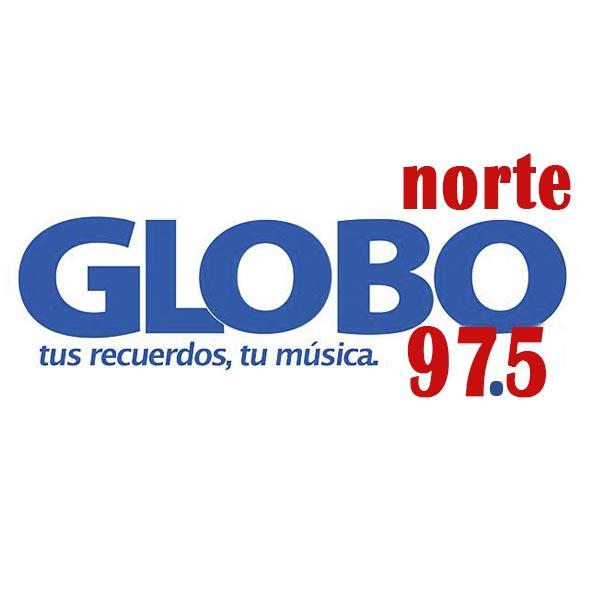 Logotipo de Globo Norte 97.5