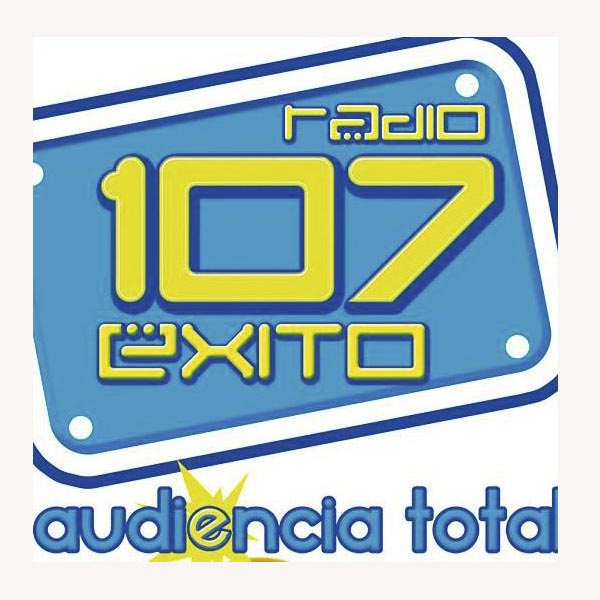 Logotipo de Radio 107 Exito