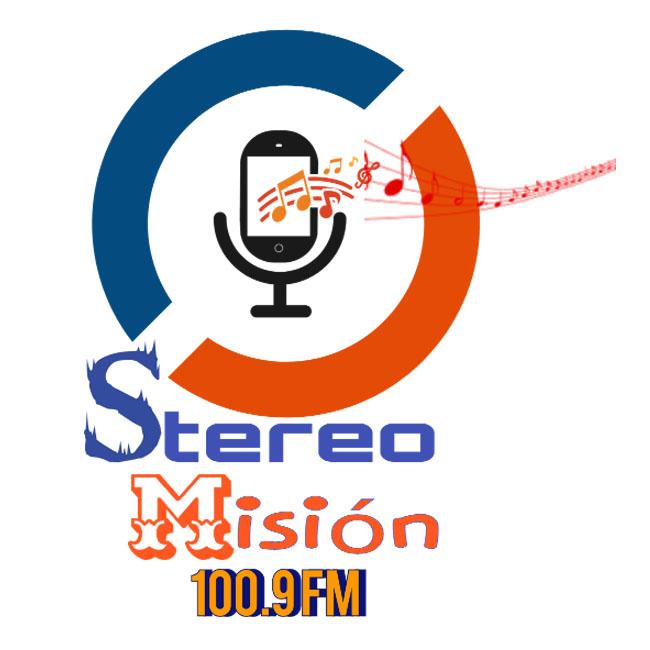 Logotipo de Stereo Mision 100.9 GT
