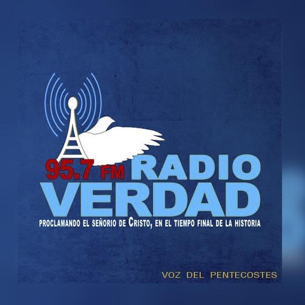 Logotipo de Radio Verdad 95.7