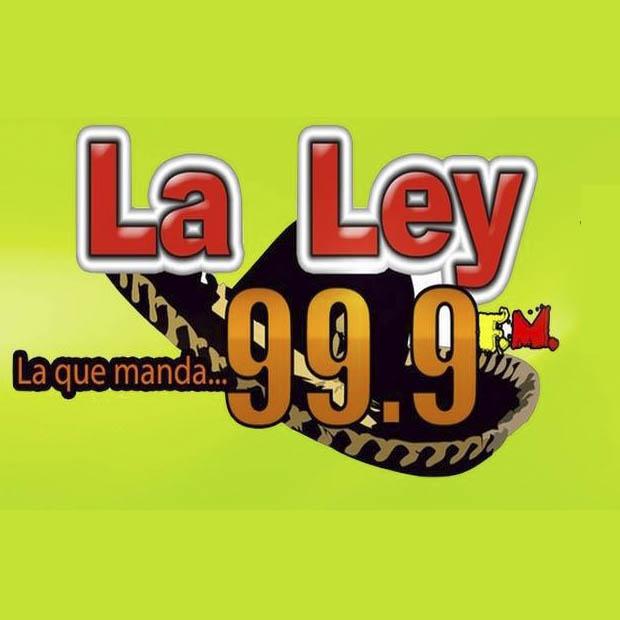 Logotipo de La Ley 99.9 FM