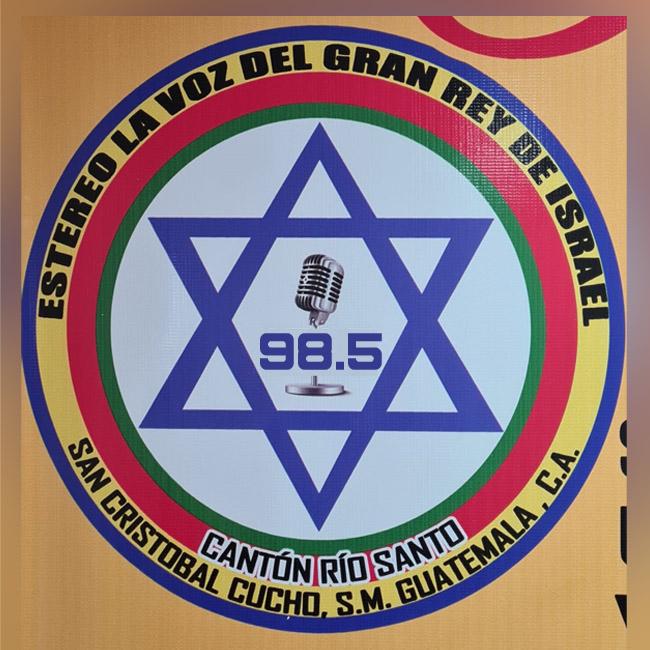 Logotipo de Estereo La Voz del Gran Rey de Israel